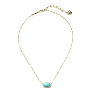 Kendra Scott Brand New Kendra Scott Elisa Necklace in Turquoise 14k Gold