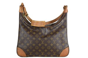 Louis Vuitton Boulogne Leather Shoulder Bag