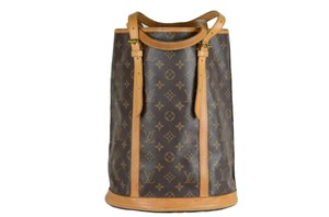 Louis Vuitton Monogram Large Leather Shoulder Bag