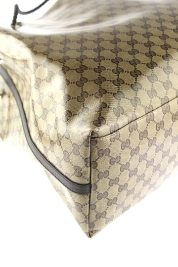 Gucci Canvas Tote in Beige and Brown GG