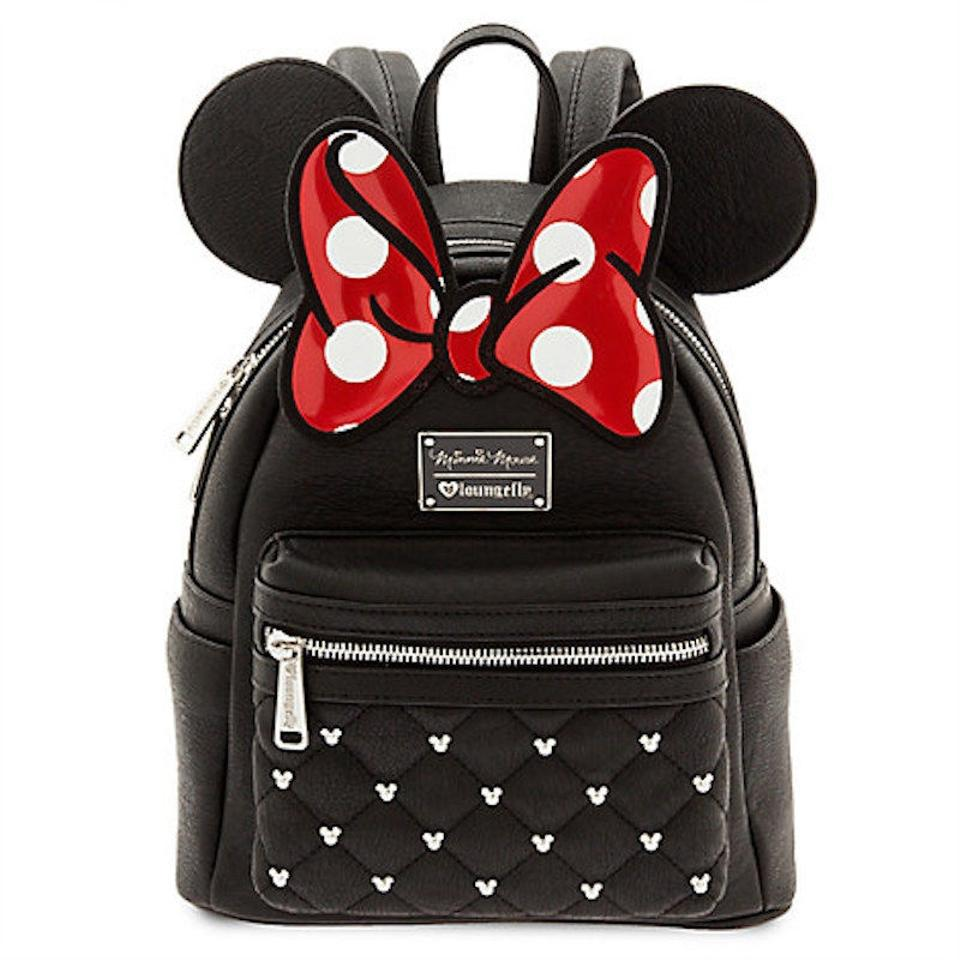 b30b78f99b07 Loungefly Mickey Mouse Disney Bags Minnie Bags Kids Leather Backpack Image  0 ...