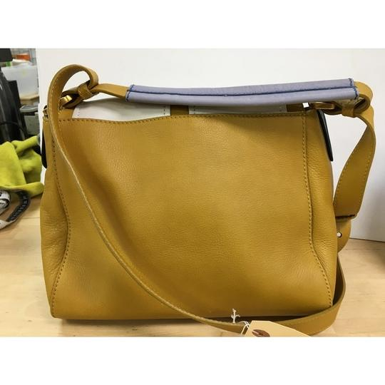 21e2506986d0 Mustard Yellow Leather Shoulder Bag | Stanford Center for ...