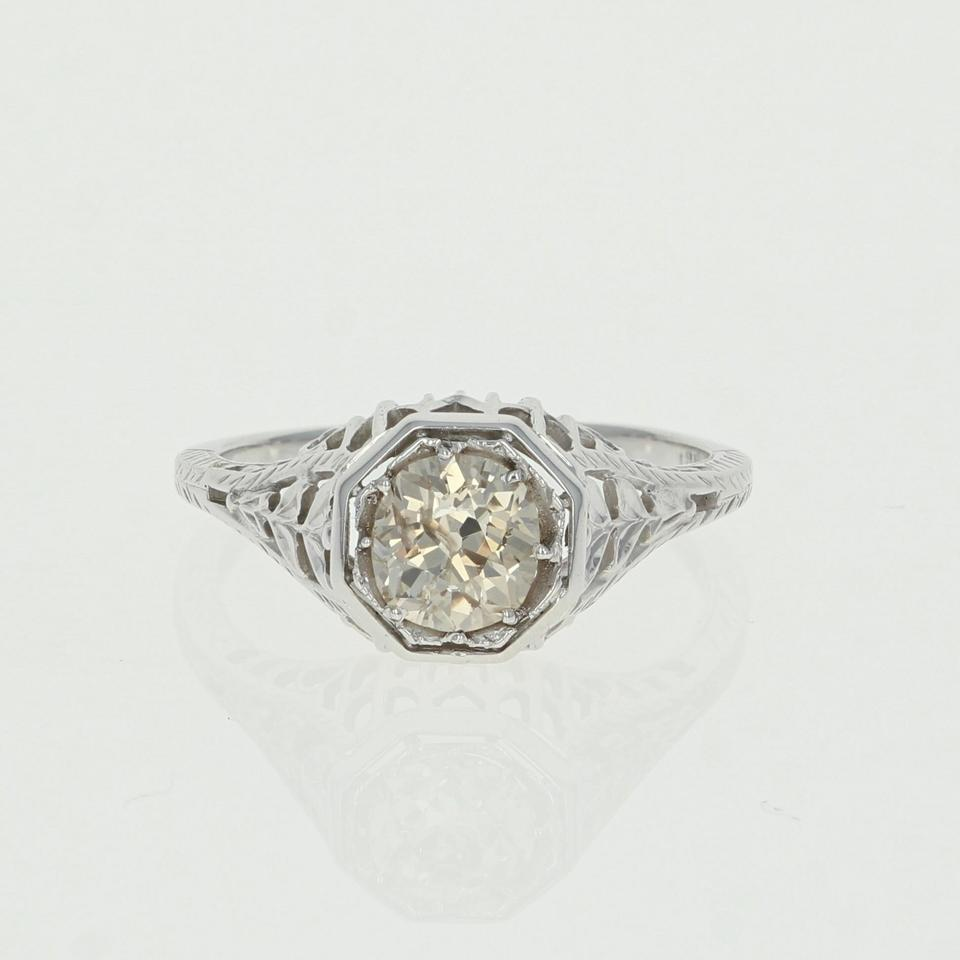 solitaire gold shop ring mount for diamond accents rings semi engagement