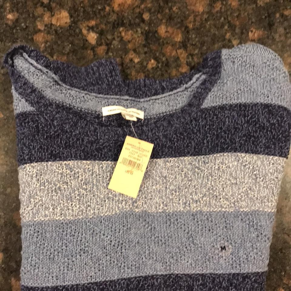 fef320ab5 American Eagle Outfitters Three Colors Of Blue with White Woven In ...