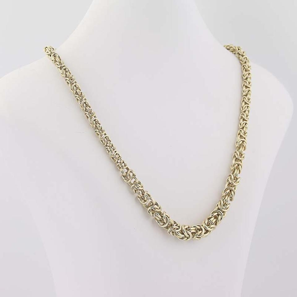 chain gold jewelry watches product overstock in shipping silver today free necklace byzantine plated sterling