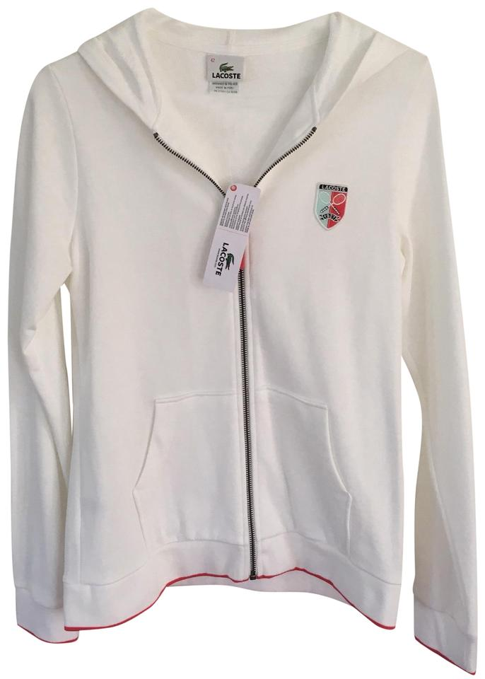 66c755c22c3f7 Lacoste Lacoste Women s Fleece Full Zip Tennis Sweatshirt Hoodie W   Embossed Logo Image 0 ...