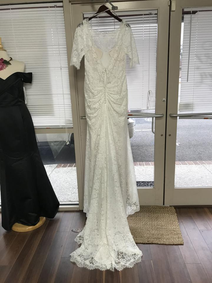 Maggie sottero antique ivory lace mckenzie vintage wedding for Maggie sottero mckenzie wedding dress
