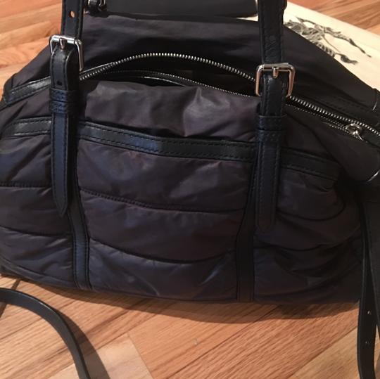 Burberry Black Nylon Abbey Quilted Tote Diaper Bag Tradesy