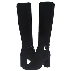 Kate Spade Soft Black Suede Boots
