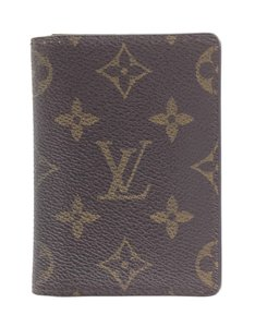 Louis Vuitton #15991 Wallet bifold business credit card pocket organize