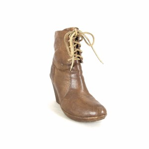 Kork-Ease Wedge Leather brown Boots
