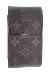 Louis Vuitton #16004 Monogram Car Key Bill credit business card Cigar Holder Wallet