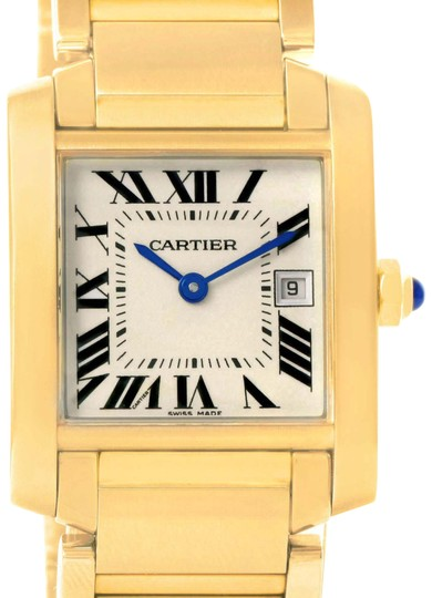 Preload https://item2.tradesy.com/images/cartier-cartier-tank-francaise-midsize-yellow-gold-watch-w50014n2-box-papers-22634936-0-1.jpg?width=440&height=440