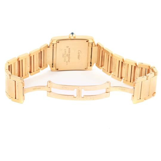 Cartier Cartier Tank Francaise Midsize Yellow Gold Watch W50014N2 Box Papers