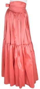 Alexis Mabille Maxi Skirt coral