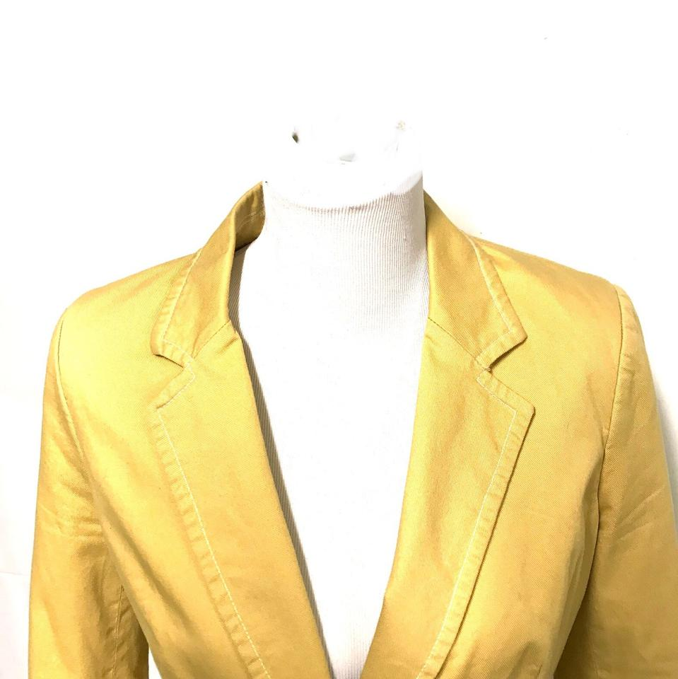 Boden yellow blazer size 8 m tradesy for Boden yellow