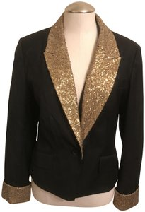 Lil Urban outfitters Blazer with Sequin cuff/collar sz 12