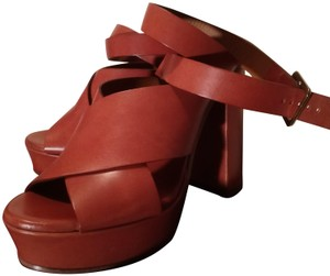 Chlo Brown Sandals