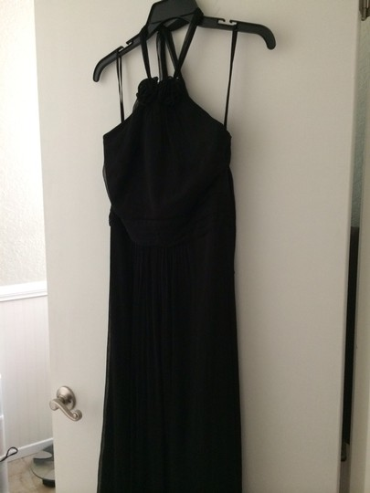 Amsale Black Dress