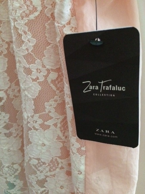 Zara Top Pink and white