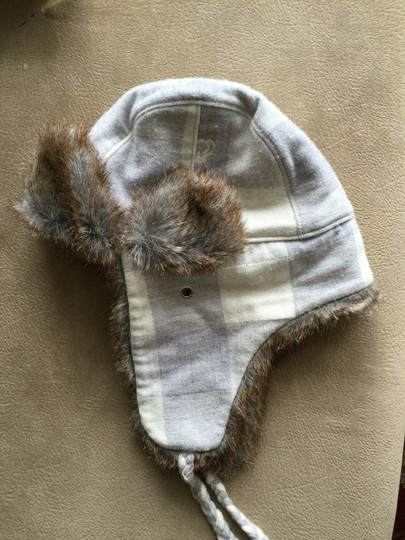 Juicy Couture Juicy Couture Faux Fur Buffalo Check Trapper Hat