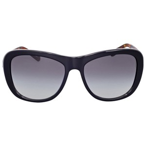 Coach Coach HC8204 544211 Cat Eye Sunglasses Black/Black Tortoise/Grey Gradi