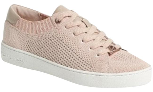 Item - Pink Skyler Lace-up Knit Sneakers Size US 9.5 Regular (M, B)