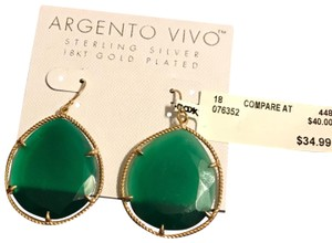 Argento Vivo 18K Gold Plated Sterling Silver