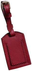 Burberry Burberry Grainy Leather Luggage Tag