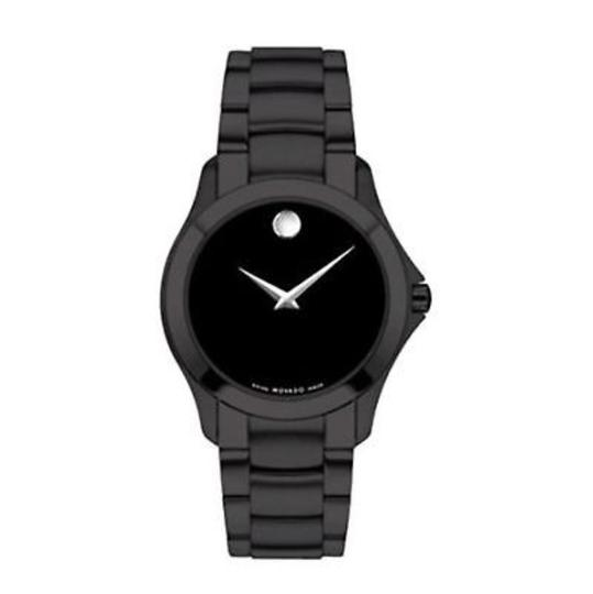 Movado MOVADO Black Ion-plated Stainless Steel Museum Men's Watch