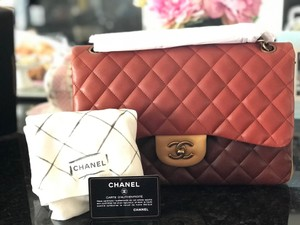 Chanel Classic Flap Jumbo Silver Quilted Shoulder Bag