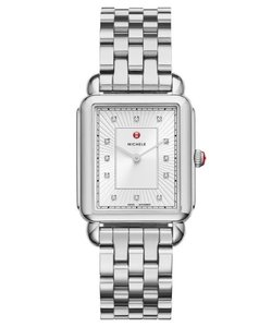 Michele Deco II Diamond Mother of Pearl Dial Watch