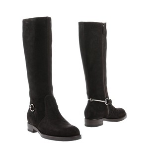 Gucci brown silver Boots