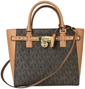 Michael Kors Satchel in brown, acorn