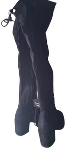 a.n.a. a new approach Black Over the Knee Boots Boots