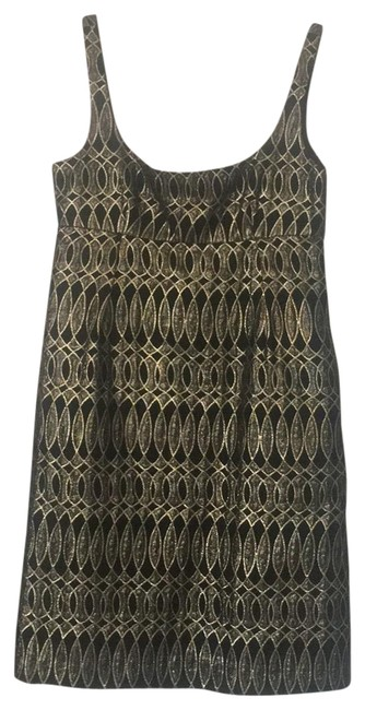 Preload https://img-static.tradesy.com/item/22637447/milly-black-and-gold-party-cocktail-dress-size-4-s-0-2-650-650.jpg