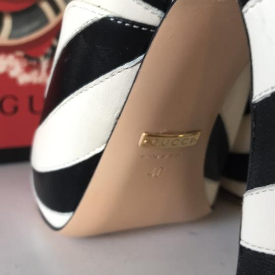 Gucci black white Pumps Image 4
