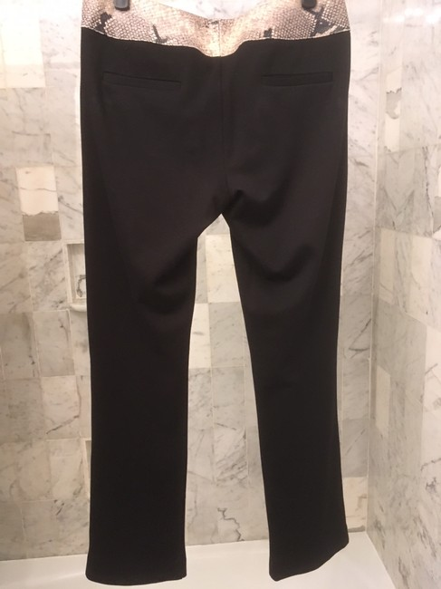 Alice + Olivia Straight Pants Black Image 1