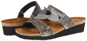 Naot Silver Sandals