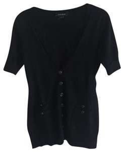 White House | Black Market Cardigan Versatile Button Down Shirt Black