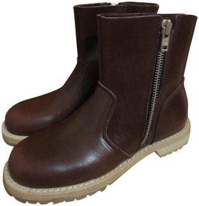 swedish hasbeens Bordeaux red Boots
