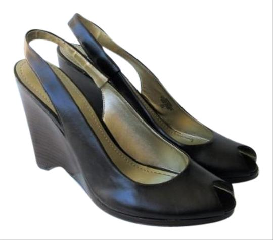 Chocolate Brown Slingback Shoes