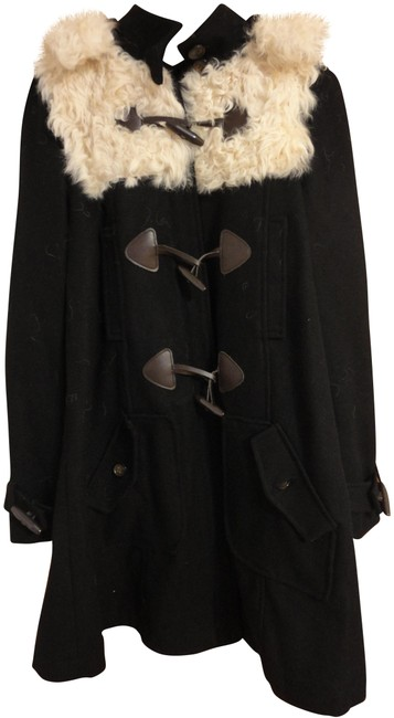 Preload https://img-static.tradesy.com/item/22638404/topshop-black-curly-shearling-wool-duffle-toggle-hooded-swing-size-6-s-0-1-650-650.jpg