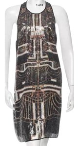 Clover Canyon Sequin Gatsby Party Holiday Dress