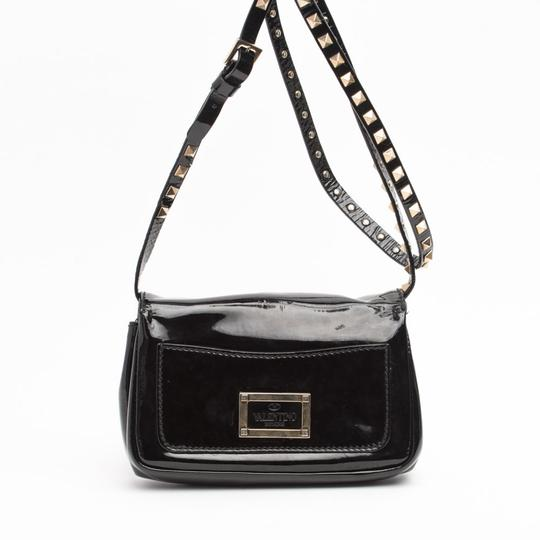 Valentino Rockstud Patent Leather Cross Body Bag Image 1