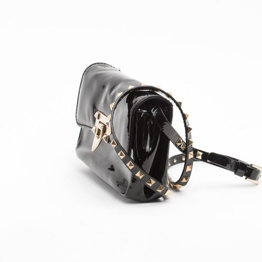 Valentino Rockstud Patent Leather Cross Body Bag Image 2