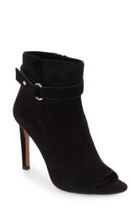 BCBGeneration Suede Leather Open Black Boots