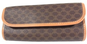 Céline Penny Lane Macadam Pouch Brown Clutch