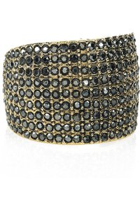 Marc by Marc Jacobs Marc by Marc Jacobs Marquee Brass and Glass Pave Ring