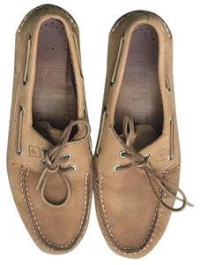 Sperry Top-Sider Tan Flats